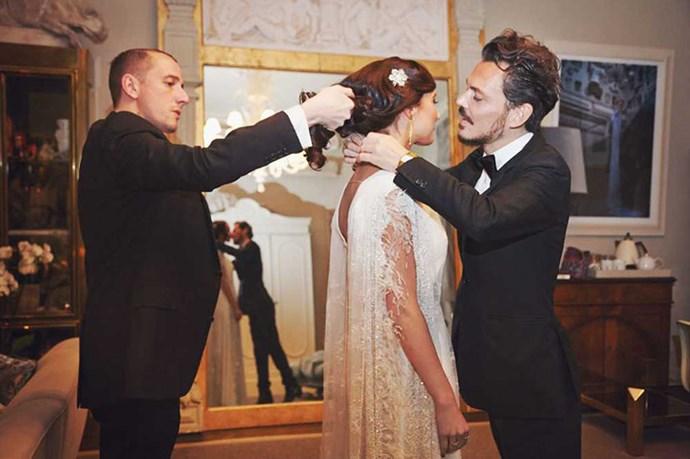 When Fashion Girls Get Married