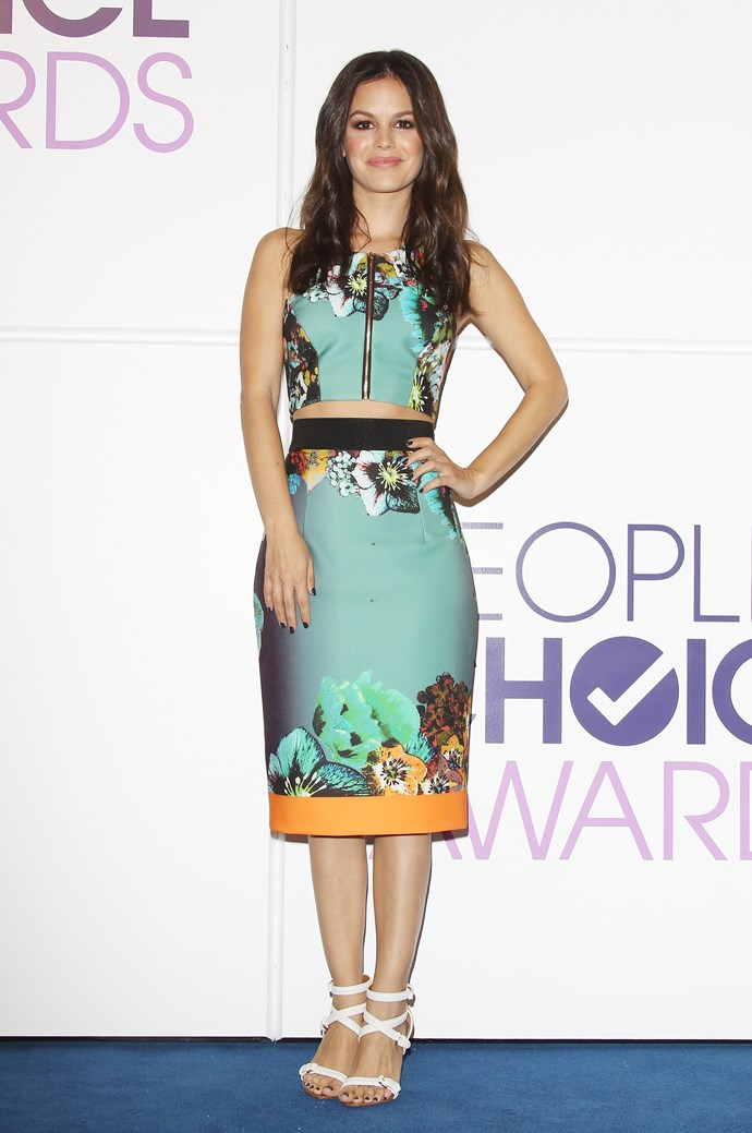 Rachel Bilson attends the 2014 People's Choice Awards nominations announcement held at The Paley Center for Media on November 5, 2013 in Beverly Hills, California.