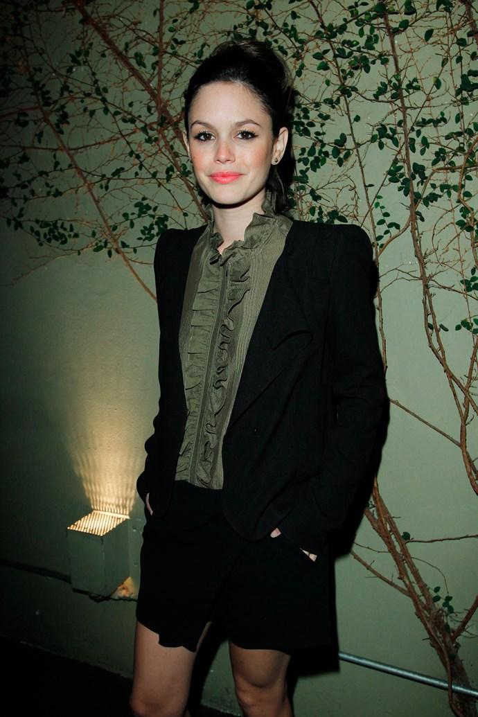 Actress Rachel Bilson attends Vanessa Bruno Celebrates One Year Anniversary In Los Angelesat Lucques Restaurant on November 9, 2011 in Los Angeles, California.