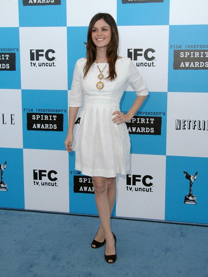 Rachel Bilson during 2007 Film Independent's Spirit Awards - Arrivals at Santa Monica Pier in Santa Monica, California, United States