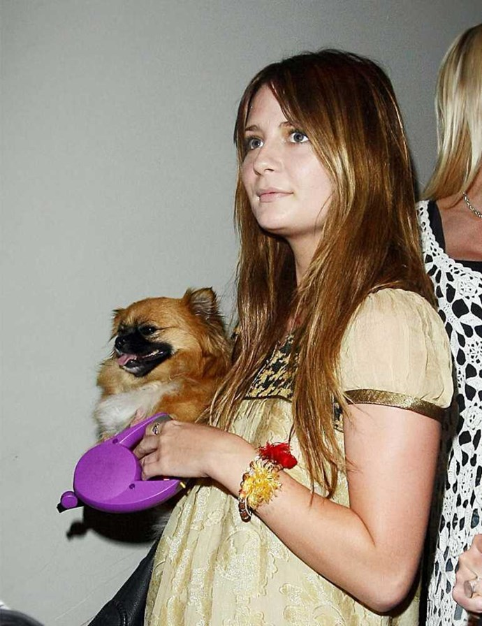Mischa Barton and Ziggy.