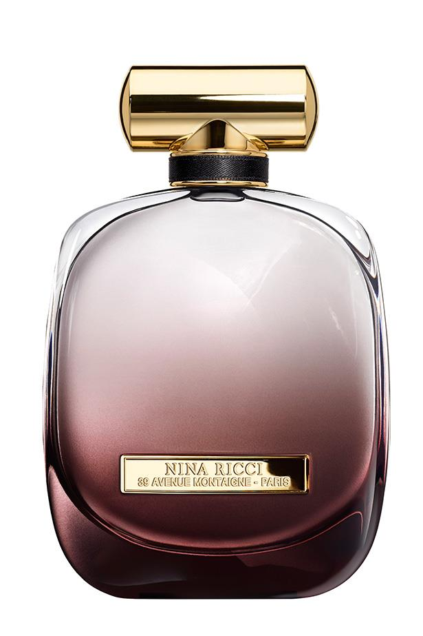 L'Extase by Nina Ricci <br><br> Rose, pepper musk and amber make it mysterious and sexy. <br><br> Available in stores, call 02 9663 4277
