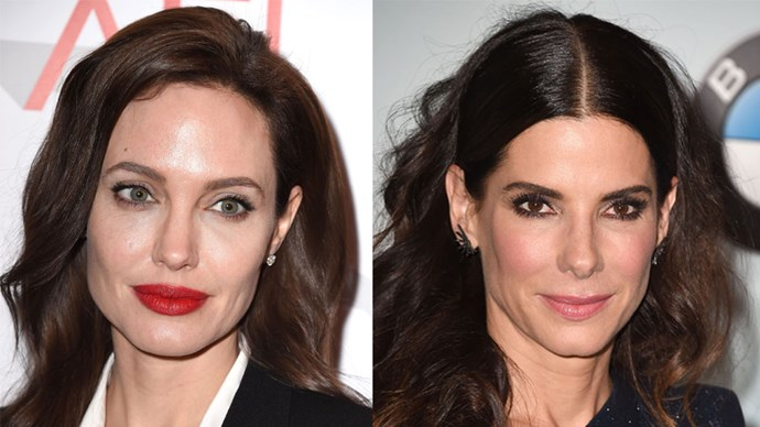 Sandra Bullock's role in <em>Gravity </em>was originally for Angelina Jolie. It was then offered to Natalie Portman before Bullock secured the role.