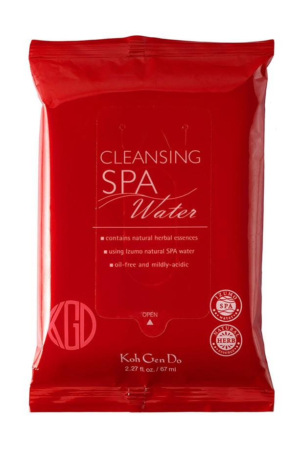 <strong>For post-night out, fall into bed cleanse </strong> <br><br>Cleansing water cloths, $39, Koh Gen Do, pmstudio.com.au