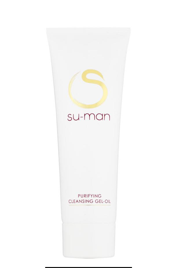 <strong>For oily skin gals that don't want to strip their skin</strong> <br><br>Purifying Cleansing Gel Oil, $89, Su-Man, mecca.com.au