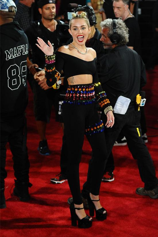 Miley Cyrus at the 2013 MTV Video Music Awards.