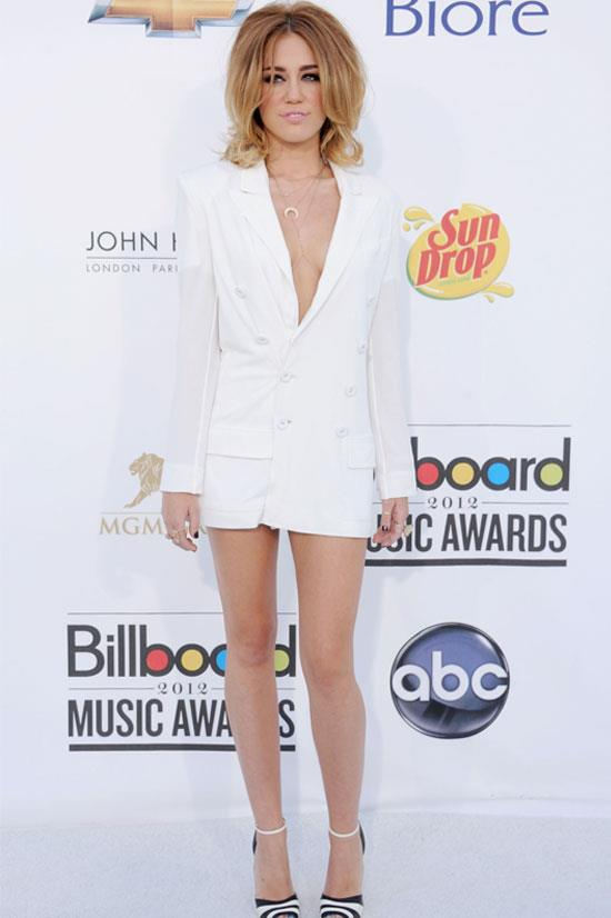 Miley Cyrus at the 2012 Billboard Music Awards.