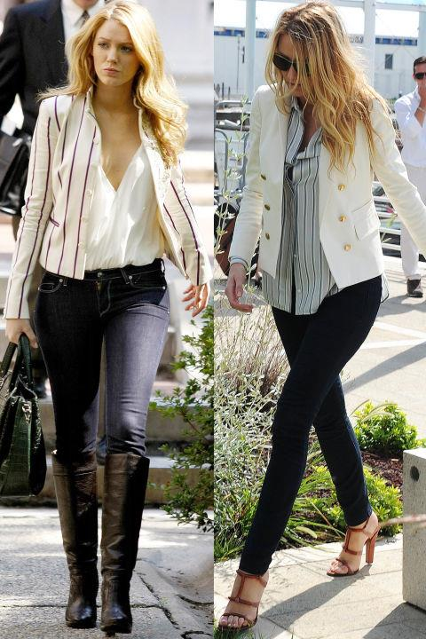 <strong>WHITE BLAZER TWINS</strong>