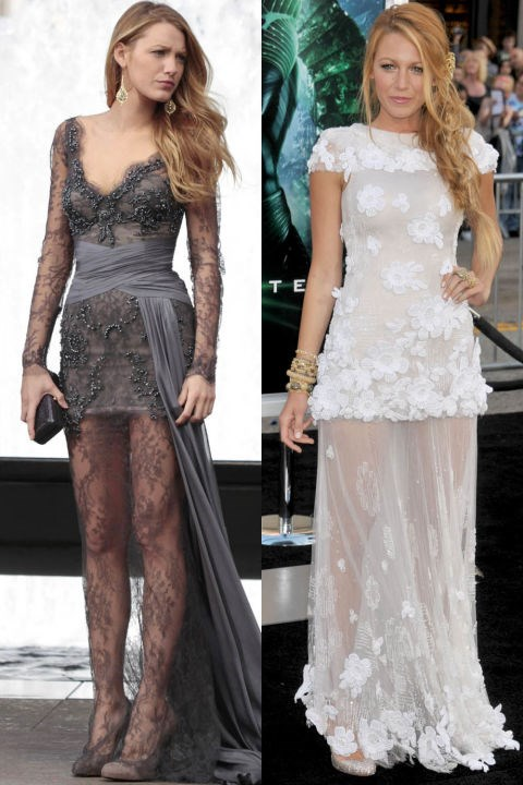 <strong>SHEER LACE DRESS TWINS</strong>