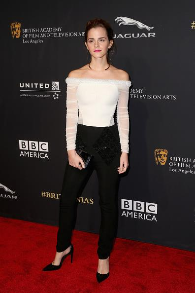 <p><strong>OCTOBER 20, 2014</strong></p> <p>In Balenciaga at the BAFTA Britannia Awards in Los Angeles.</p>