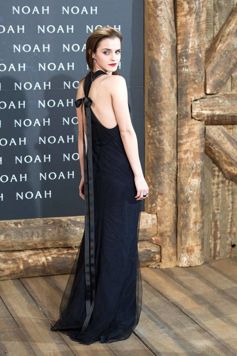 <p><strong>MARCH 13, 2014</strong></p> <p>In a Wes Gordon dress, Christian Louboutin heels, and Ana Khouri earrings at the Berlin premiere of Noah.</p>