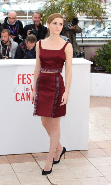 <p><strong>MAY 16, 2013</strong></p> <p>In Christopher Kane at a photocall for The Bling Ring in Cannes.</p>