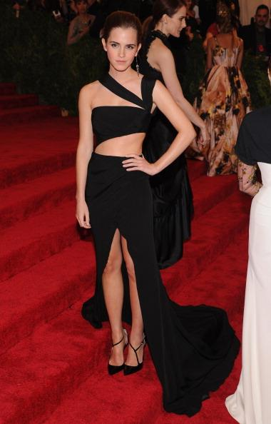 """<p><strong>MAY 6, 2013</strong></p> <p>In Prabal Gurung at the """"Punk: Chaos to Couture"""" Costume Institute Gala at the Metropolitan Museum in New York.</p>"""