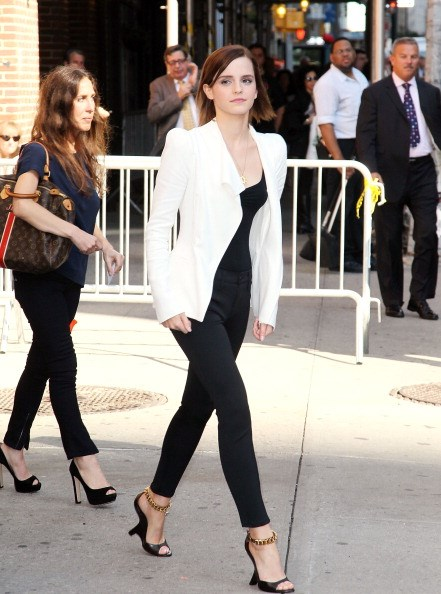 <p><strong>SEPTEMBER 5, 2012</strong></p> <p>Leaving the Late Show with David Letterman in New York wearing Tom Ford wedges.</p>