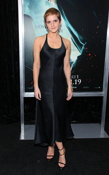 <p><strong>NOVEMBER 15, 2010</strong></p> <p>At the Harry Potter and the Deathly Hallows premiere in New York wearing Calvin Klein.</p>