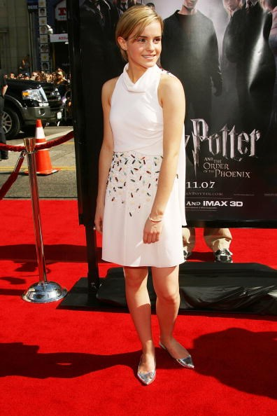 <p><strong>JULY 8, 2007</strong></p> <p>At the Los Angeles premiere of Harry Potter and the Order of the Phoenix.</p>