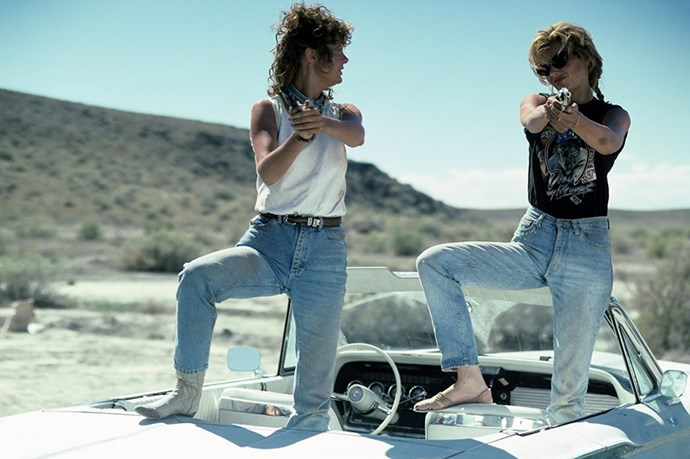 Thelma And Louise, the ultimate story about female friendship, and bad-ass mom jeans.