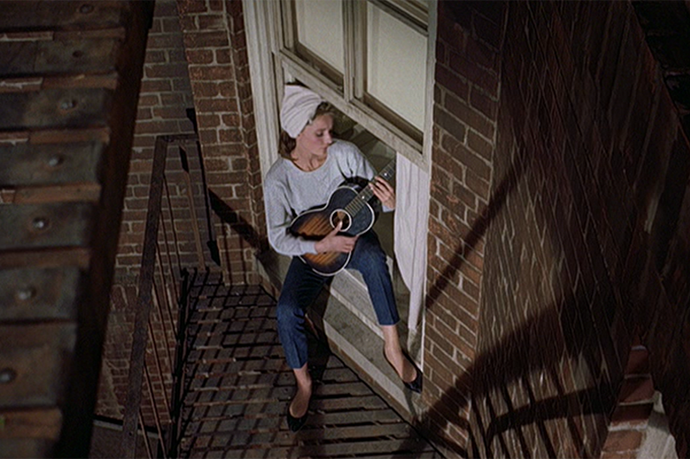 We love Audrey Hepburn in her black dress and pearls yadayada but when she sang Moon River while playing a ukulele and wearing jeans? Perfection!