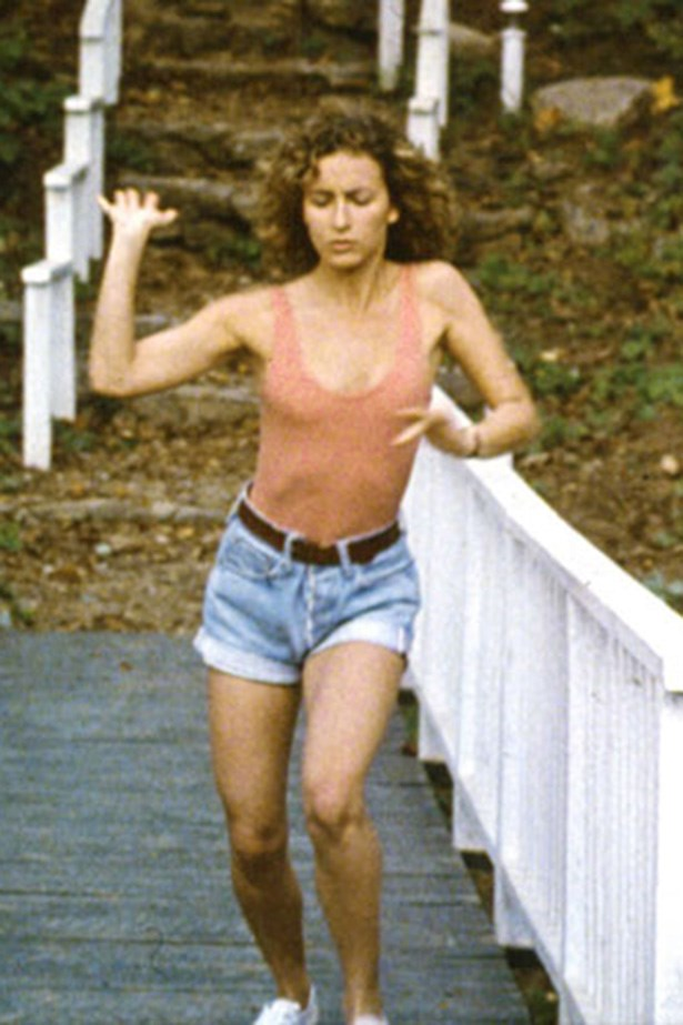 How could anybody put Baby in the corner in those shorts? Jennifer Grey in Dirty Dancing.