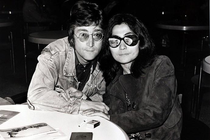 John Lennon's peace badge clad denim jacket. Imagine.
