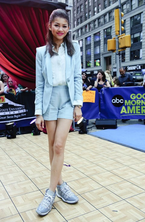 MAY 22, 2013 On ABC's Good Morning America. GETTY