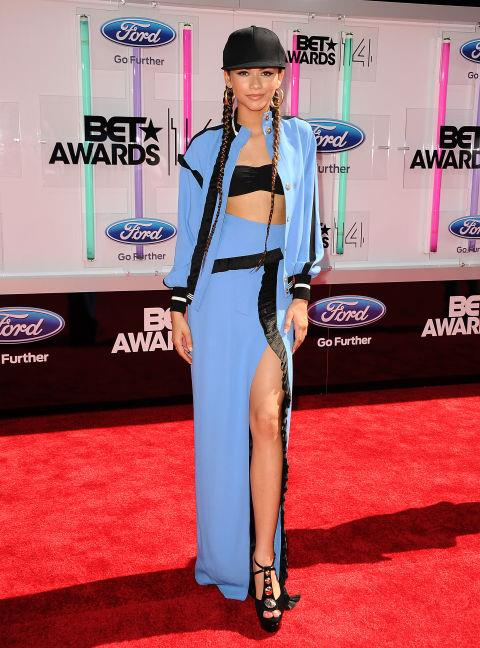 JUNE 29, 2014 At the 2014 BET Awards. GETTY