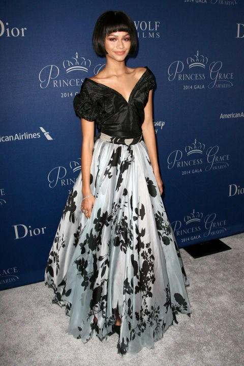 OCTOBER 8, 2014 At the 2014 Princess Grace Awards Gala in Beverly Hills. GETTY