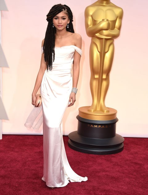 FEBRUARY 22, 2015 At the 87th Annual Academy Awards in Hollywood. GETTY