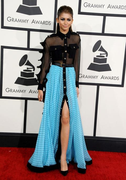 JANUARY 26, 2014 At the 56th annual Grammy Awards.