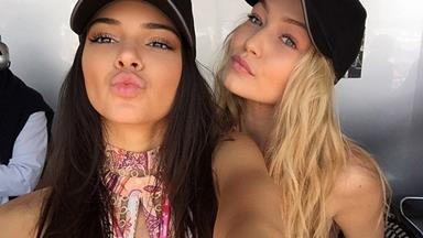 7 Times Kendall and Gigi Had Totally Twinning Beauty Looks