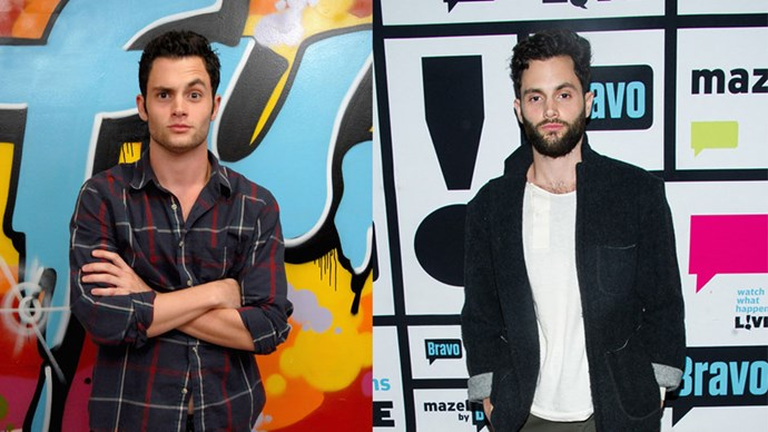 <strong>Penn Badgley</strong> <BR> <BR> <strong>Then:</strong> The sensitive and savvy Dan Humphrey in <em>Gossip Girl</em> (Who turned out to be Gossip Girl?!) <BR> <BR> <strong>Now:</strong> Penn played the adorable Woodchuck Todd in <em>Easy A</em>, which involved singing Happy Birthday whilst wearing a lobster hat.