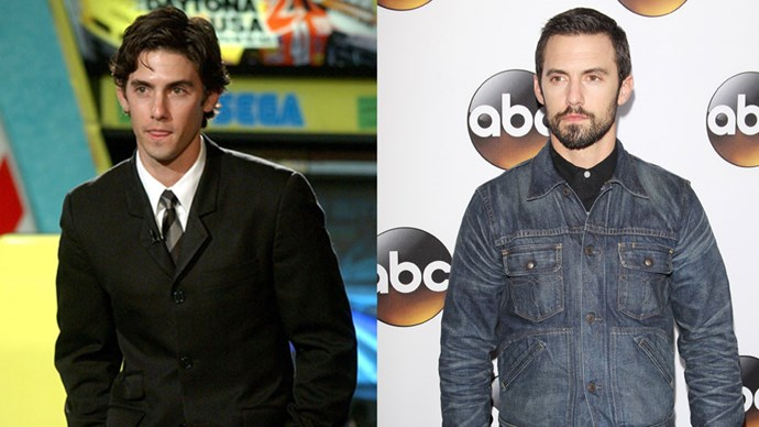 <strong>Milo Ventimiglia</strong> <BR> <BR> <strong>Then:</strong> As Jess Mariano in <em>Gilmore Girls</em> he melted ours AND Rory's heart. <BR> <BR> <strong>Now:</strong> Has starred in so many different TV shows, including <em>Heroes</em>.