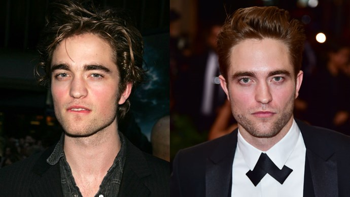<strong>Robert Pattinson</strong> <BR> <BR> <strong>Then:</strong> The dreamy Cedric Diggory who told Harry Potter to take a bath. <BR> <BR> <strong>Now:</strong> We can't not mention his role as sparkly vampire Edward Cullen in <em>Twilight</em>. Now engaged to FKA Twigs, R-Patz has also starred alongside Reese Witherspoon in <em>Water For Elephants</em>.