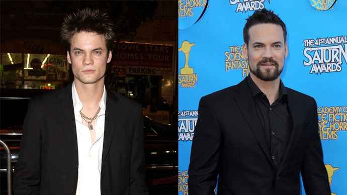 <strong>Shane West</strong> <BR> <BR> <strong>Then:</strong> Added to this list specifically for playing Landon Carter in <em>A Walk To Remember</em>. Crying forever. <BR> <BR> <strong>Now:</strong> West has most recently appeared in TV series <em>Salem</em>.