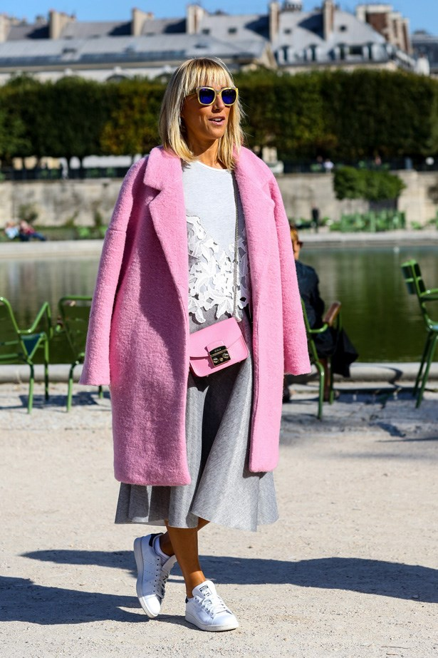 This recent Paris fashion week saw attendees wear them to runway shows.