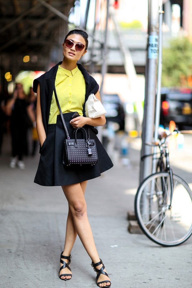 Nothing says spring like canary yellow.