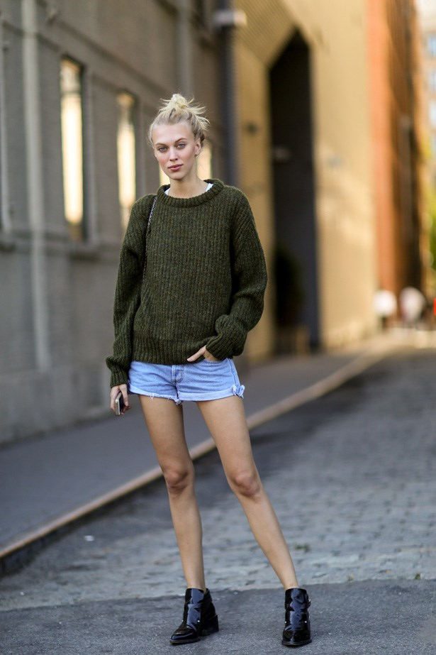Come on denim shorts, we are ready for you!