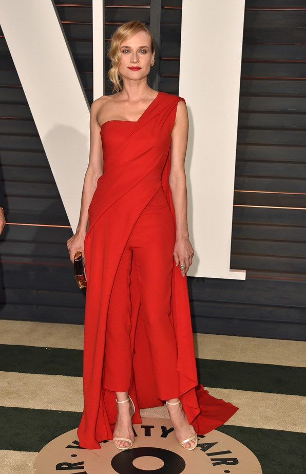 Diane does lady in red.