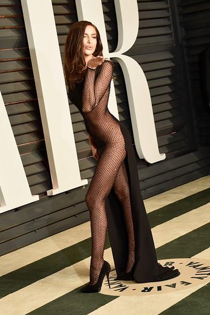 Irina Shayk dared to bare (everything).