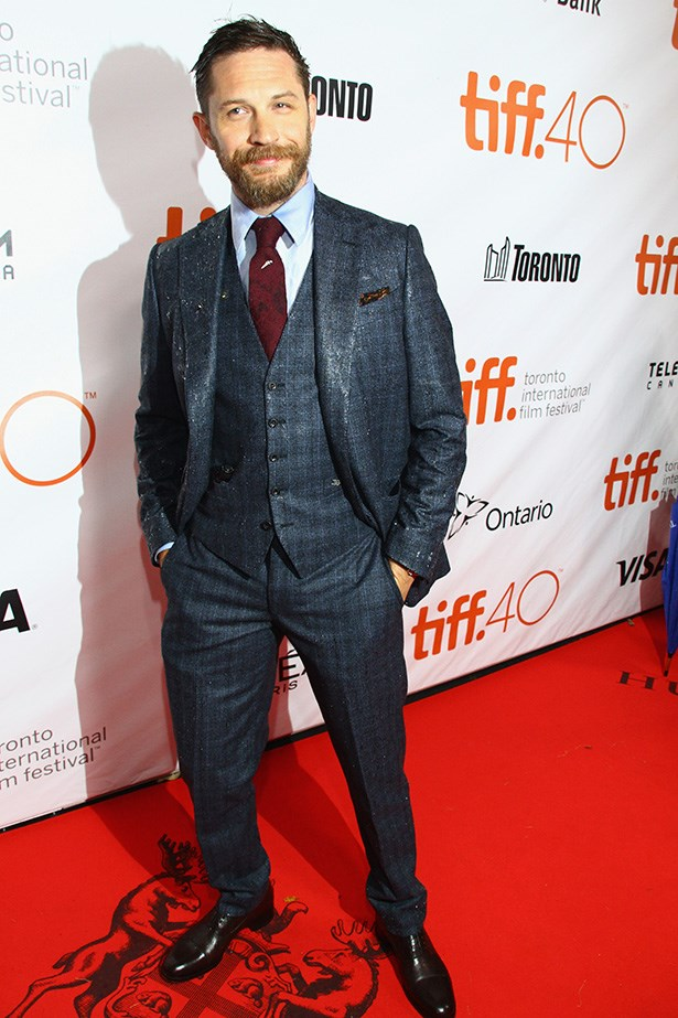 Tom Hardy was utterly befuddled to be asked about his sexuality at the Toronto Film Festival and the interview was abruptly, but politely, ended.