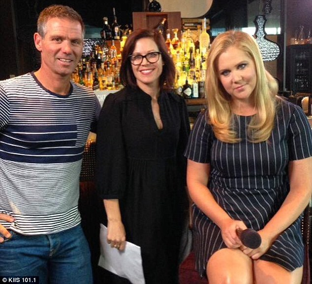 """In what would be a series of awkward interviews during Amy Schumer's press tour of Australia to promote Amy Schumer, Schumer's character was implied to be """"skanky"""" by radio presenter Matt Tilley, and Schumer shut it down. 'That's a rude question,' she says, in between other sarcastic zings."""