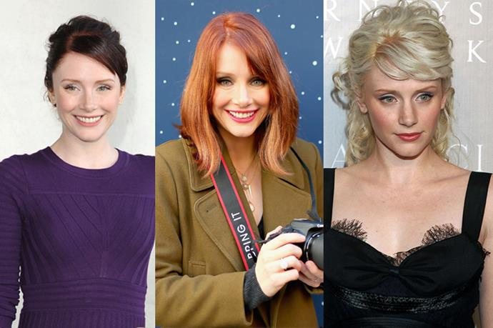 **Bryce Dallas Howard**<br><br>  Her blonde dye job in 2006 probably wasn't her best look, but, to be fair, Bryce Dallas Howard probably just did it so people would stop mistaking her for Jessica Chastain.