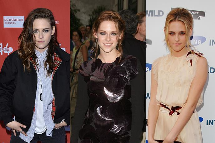 **Kristen Stewart**<br><br>  Don't be fooled by her loyalty to brunette, Kristen Stewart can rock a mean blonde... and red.