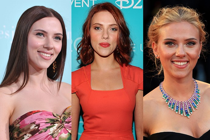We're not totally sure Scarlett Johansson <i>isn't</i> her spy character Black Widow with all these hair style changes.