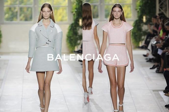 Balenciaga – <em>bahl-en-see-ah-gah</em>