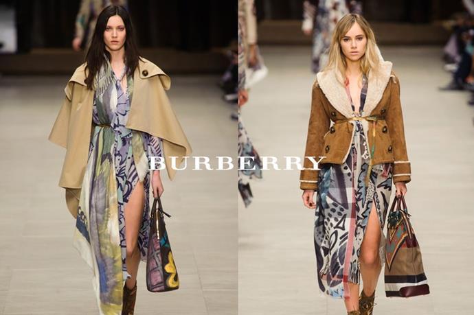 Burberry – <em>burr-bur-ee</em>