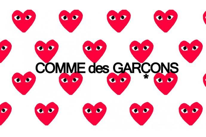 Commes des Garcons – <em>cohm-day garr-sohn </em>