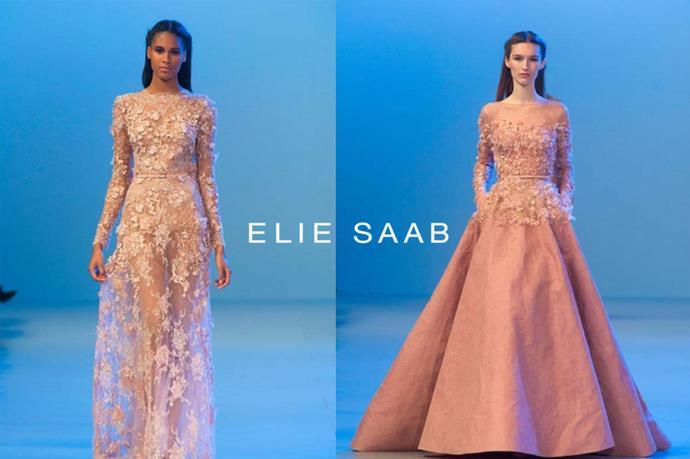 Elie Saab – <em>ee-lee sahb</em>