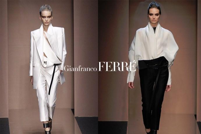 Gianfranco Ferre - <em>gee-ahn-frank-oh feh-ray</em>