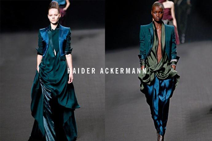 Haider Ackermann - <em>ay-der ak-er-man</em>